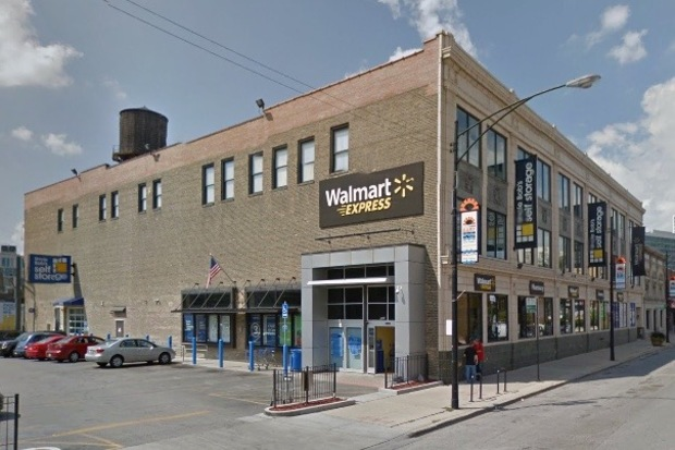 Walmart Express, 3636 North Broadway, will close Sunday along with a River North location, 225 W. Chicago Ave.
