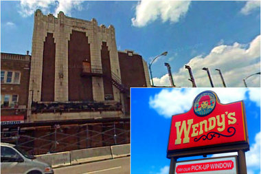 A new Wendy's is heading to 6324-49 N. Western Ave., the site of the former Nortown Theater that later became a vacant lot filled with cars.
