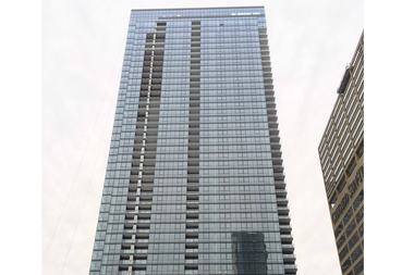 The Wolf Point West apartment tower, 343 W. Wolf Point Plaza.