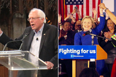 Is Your 'Hood Feeling the Bern or With Hillary? Dem Contributions, Mapped