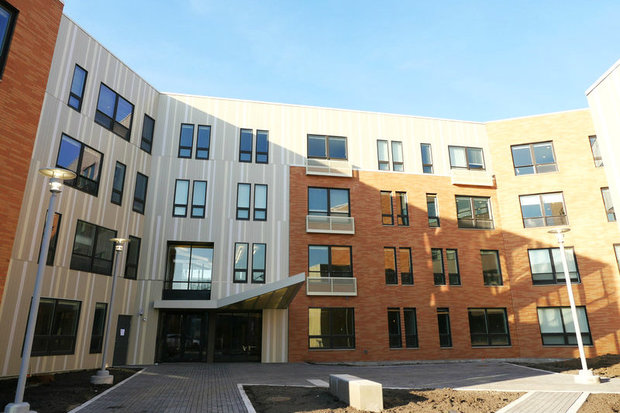 Casa Querétaro, a new affordable housing development in Pilsen, opened last week at 2012 W. 17th St.