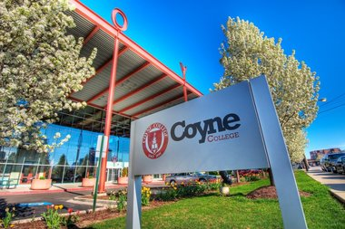 Coyne College, based in the West Loop, is moving to 1 N. State St. in the Loop this summer. The college is selling the Fulton Market campus at Green and Wayman streets .