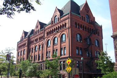 IIT's main building, 3300 S. Federal St., was built in 1893 with funds from Chicago meatpacking baron Philip Armour. The university is now pursuing converting the building into 84 housing units.