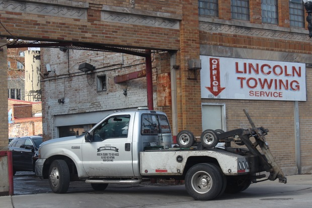 "The  Illinois Commerce Commission  is investigating whether  Lincoln Towing  should be allowed to keep operating after ""multiple violations and alleged violations of state law,"" according to the agency."