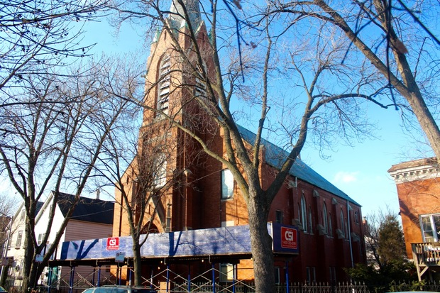 A deal between an unnamed developer at the Saint John United Church of Christ would make way for the demolition of the church, according to its pastor.