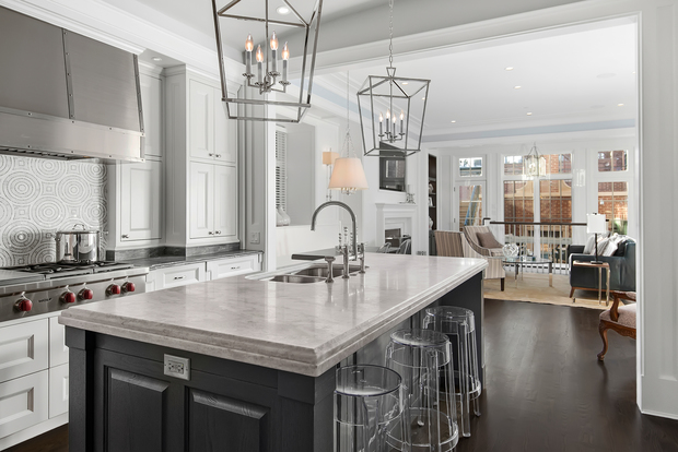 The 25 most expensive homes sold in chicago in 2016 so for Most expensive kitchen cabinets