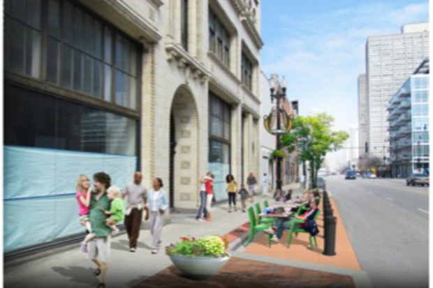 Check out the city's ideas to spruce up two busy South Loop streets.