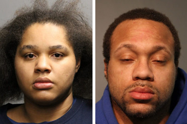 Shatrara Lehman (l.) and Alexander Robinson (r.) are charged with murdering a 64-year-old West Ridge man and disposing of his body.