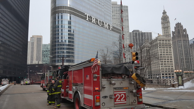Fire At Trump Tower Started In Garbage Container On 50th