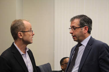 Ald. Tom Tunney advised Ald. John Arena to bring his proposal calling for ride-hailing drivers to get chauffeur's licenses to the full City Council.