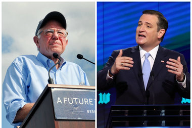 As Donald Trump rolls into town Friday, Presidential hopefuls Bernie Sanders and Ted Cruz are speaking at events in the Chicago area Friday night, too.