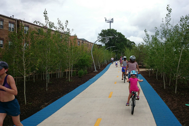 The 606's Bloomingdale Trail.