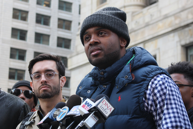 Backed by Brandon Smith, activist Will Calloway says the police recordings are proof of