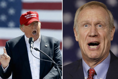 Gov. Bruce Rauner says he'll support the Republican nominee for president — even if it's Donald Trump.