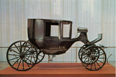Lincoln's family carriage.