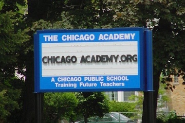 Chicago Academy, which is run by the nonprofit Academy for Urban School Leadership, has an elementary school and high school on its Dunning campus.