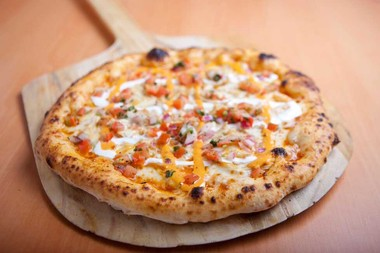 Persona's Chipotle Chicken pizza is one of the specialty pizzas.