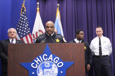 Chicago Police Chief of Patrol Eddie Johnson is expected to be announced as the city's new police superintendent on Monday.
