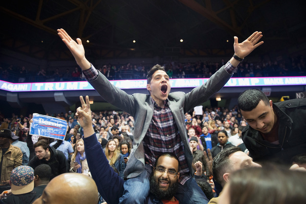 Donald Trump's rally was canceled for safety reasons as protesters filled the UIC Pavilion.