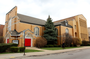 Grace Church of Logan Square is meeting with neighbors to discuss the future of the church building.