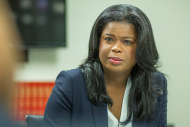 Cook County State's Attorney Kim Foxx announced her pick Thursday. File photo.