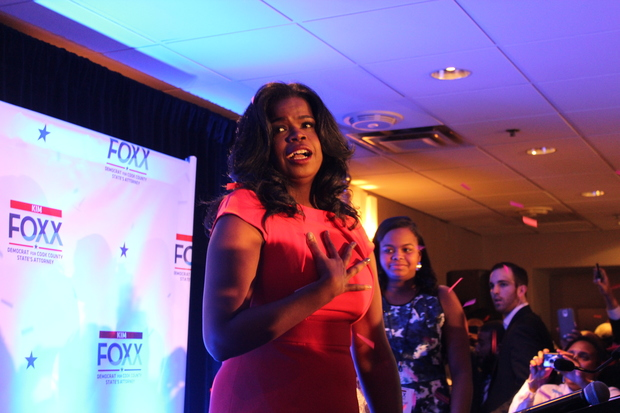 Kimm Foxx beat Anita Alvarez in the Cook County State's Attorney's race.