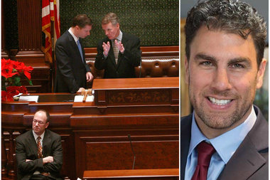 House Speaker Michael Madigan faces a Democratic primary challenge from Jason Gonzales.