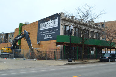 The old Morseland bar at 1218-20 W. Morse Ave. will be demolished soon, Ald. Joe Moore said, but no date has been set yet.