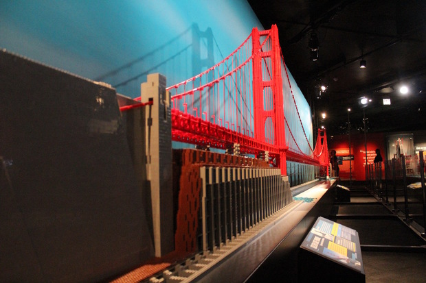 64k Legos Used To Build Golden Gate Bridge Now At Science