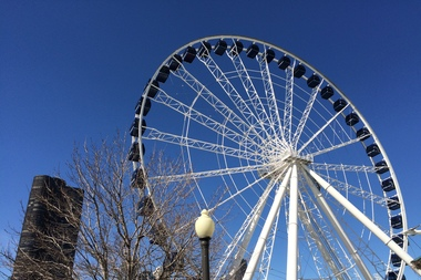 want to spin navy pier s new ferris wheel here s your chance