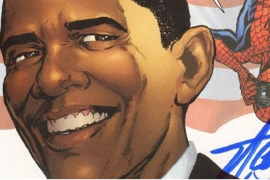 Obama merrick garland and their shared comic book fascination president obama as seen on a sciox Image collections