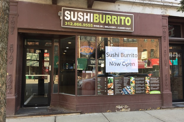why not 39 asks sushi burrito owner of lakeview 39 s latest culinary mash