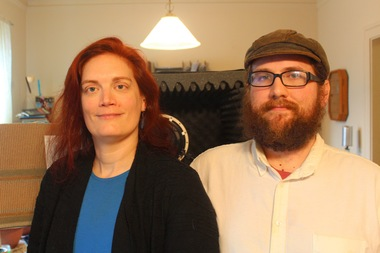 Kat O'Connor and Michael Coorlim worked together to create an audio drama serial podcast.