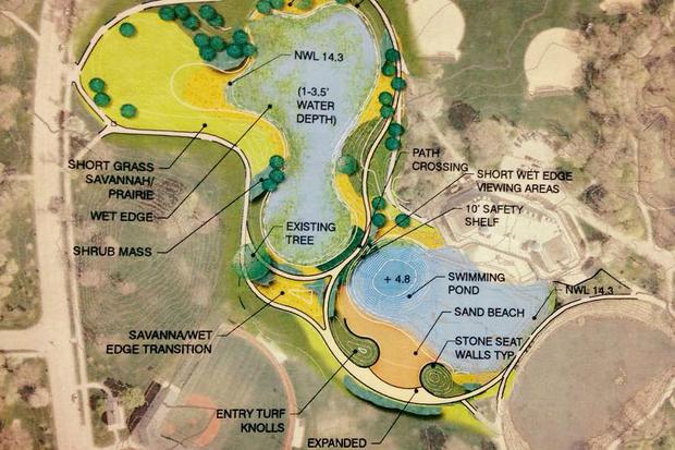 Humboldt Park Beach plans