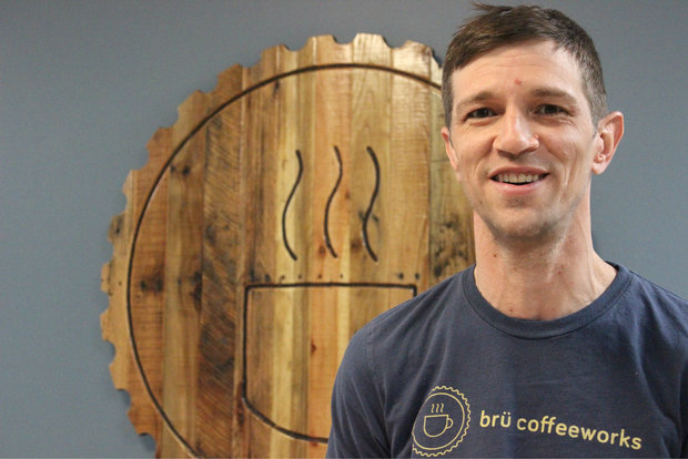 Cory Creighton's micro-roastery, Bru Coffeeworks, is set to open by the end of April in Albany Park.