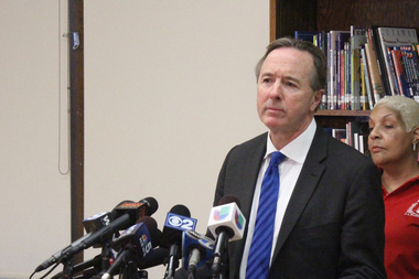 CPS CEO Forrest Claypool said Friday the district was asking the Illinois Educational Labor Relations Board to make the Chicago Teachers Union pay the costs of Friday's strike.
