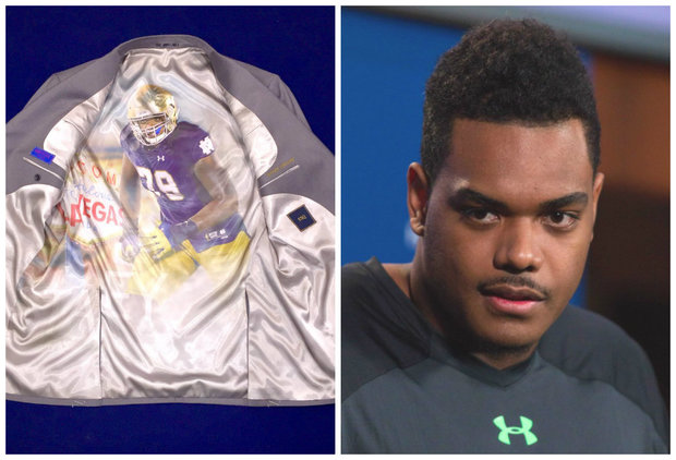 As the NFL draft rolls into town, West Loop's ESQ Clothing will dress Notre Dame's top two draft prospects.
