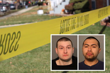 Giann Chiazim (l.) and Luis Silva (r.) are charged in the Sunday evening attack.