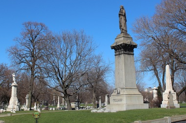 Graceland Cemetery, 4001 N. Clark St., is home to notable architects, public figures, athletes, public officials and businesspeople.