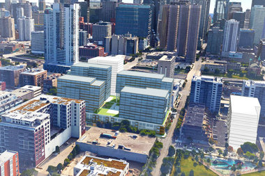A Chicago Developer Is Now Pitching Plans To Build 620 Apartments At The FormerH2oPlus