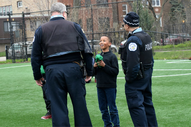 Officers from the Rogers Park, West Ridge and Edgewater neighborhoods will be celebrating the national event on Tuesday.