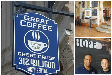 Hope Cafe's earnings go toward the funding Chicago Hope Academy.