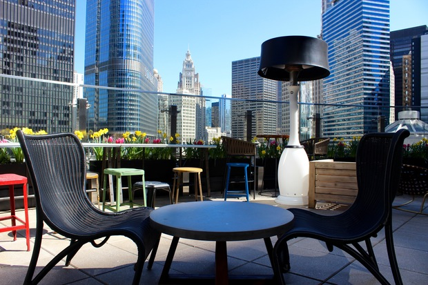This New Rooftop Bar At State And Wacker Has Stunning City And River Views    Downtown   Chicago   DNAinfo