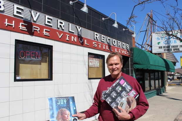 Beverly Records will participate in the 9th annual Record Store Day on Saturday. The doors open at 8 a.m., and there are normally about 100 people waiting to get into the store at 11612 S. Western Ave. in Morgan Park, said owner Jack Dreznes.