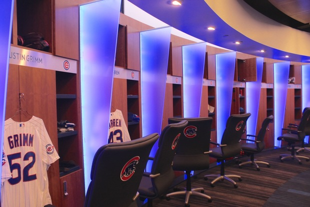 What\'s It Like To Live Large In New Cubs Clubhouse? Take A Look ...