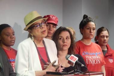 CTU President Karen Lewis said Monday that CPS wants to