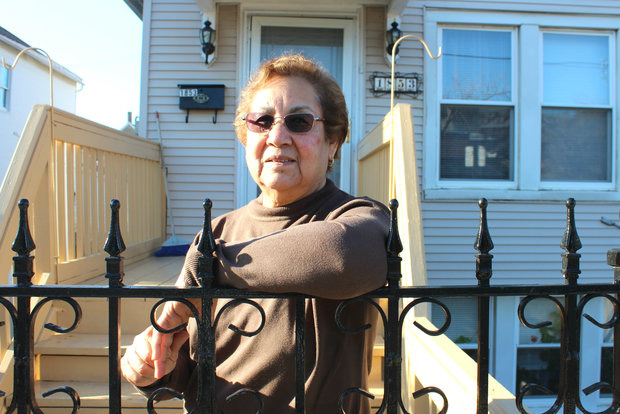 AmaliaAlejo, who immigrated to the U.S. from Mexico, has called Pilsen home since 1975. Now 70, she said she hopes to one day pass her 19th Street home down to her daughter.