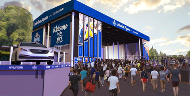 "Here's a first look at what this month's ""Draft Town"" festival will look like."
