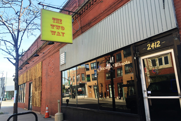 The Two Way, one of the last dive bars in Logan Square, may soon be sold.