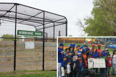 Improvements to the ball field at Winnemac Park, courtesy of a grant from Cubs Charities, will benefit Amundsen H.S. and community leagues.